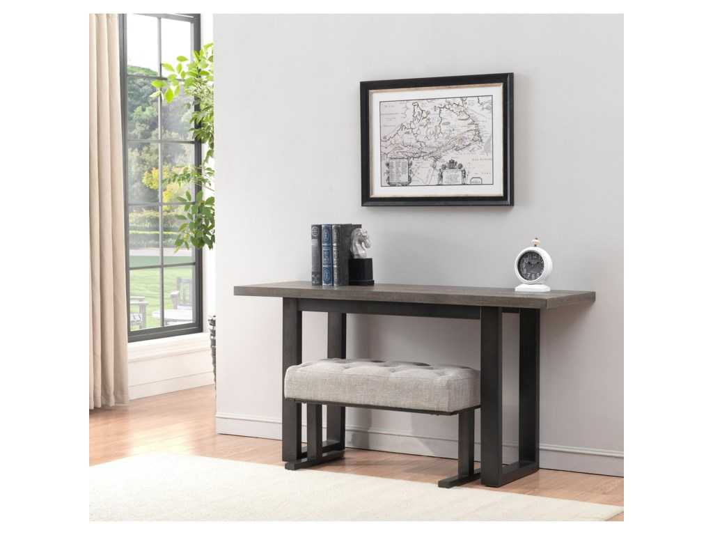 Coast to Coast Imports Coast to Coast AccentsConsole Table w/ One Stool