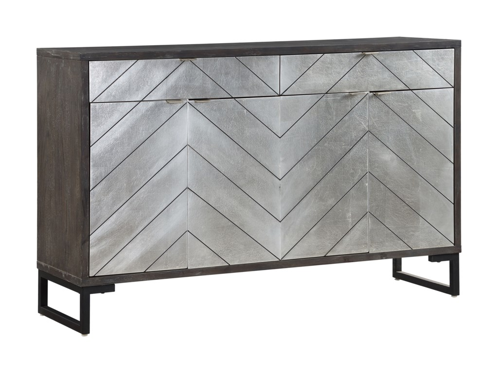 Coast to Coast Imports Coast to Coast AccentsFour Door Two Drawer Media Credenza