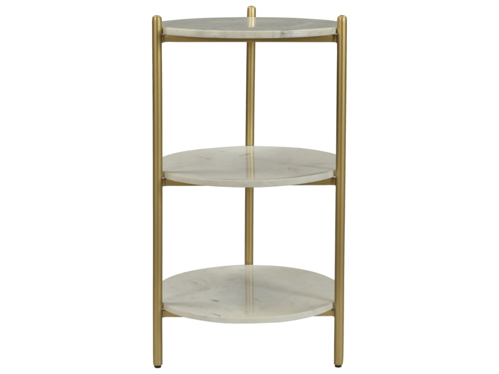 Coast to Coast Imports Coast to Coast AccentsRound 3-Tier Accent Table
