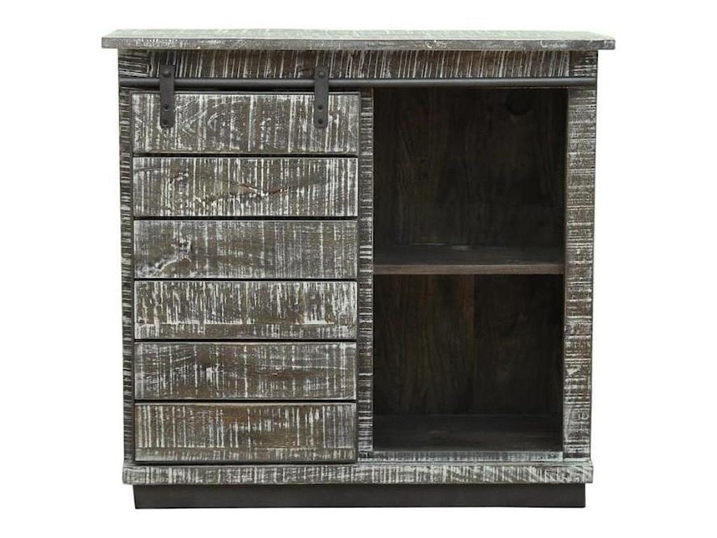 Coast to Coast Imports Coast to Coast AccentsOne Sliding Door, Four-Drawer Cabinet