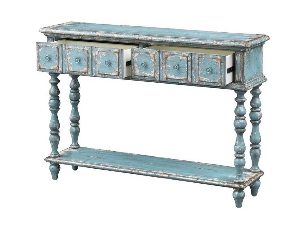 Coast to Coast Imports Coast to Coast AccentsTwo Drawer Console Table