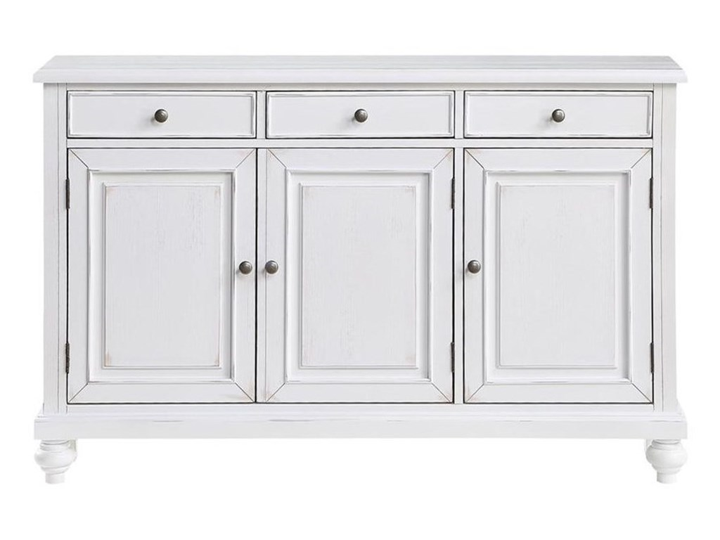 Coast to Coast Imports Coast to Coast AccentsThree Door Three Drawer Credenza