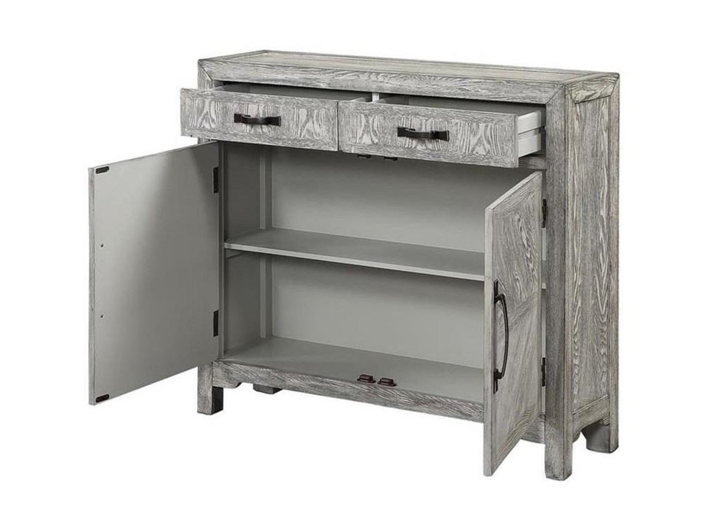 Coast to Coast Imports Coast to Coast AccentsTwo Door Two Drawer Cabinet