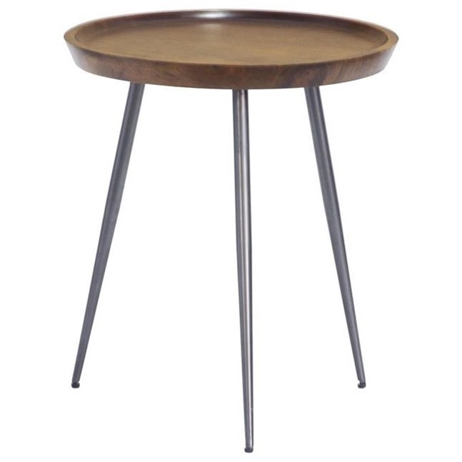 Contemporary Round Accent Table