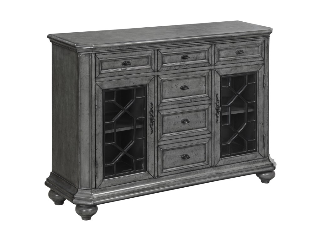 Coast to Coast Imports Coast to Coast AccentsTwo Door Six Drawer Sideboard