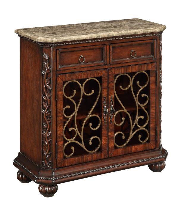 Beau Coast To Coast Imports CSTC 2 Drawer 2 Door Cabinet