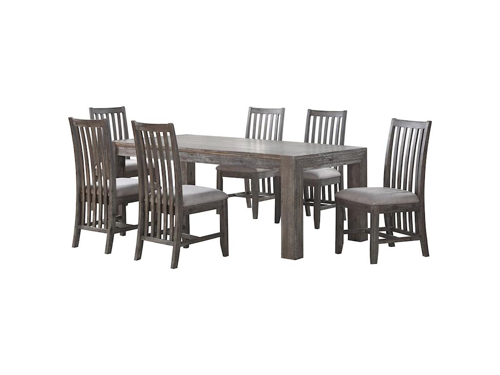 Coast to Coast Imports FarmingtonTable and Chair Set