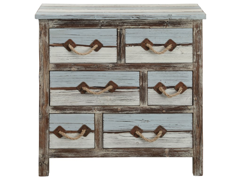 Coast to Coast Imports IslanderSix Drawer Chest