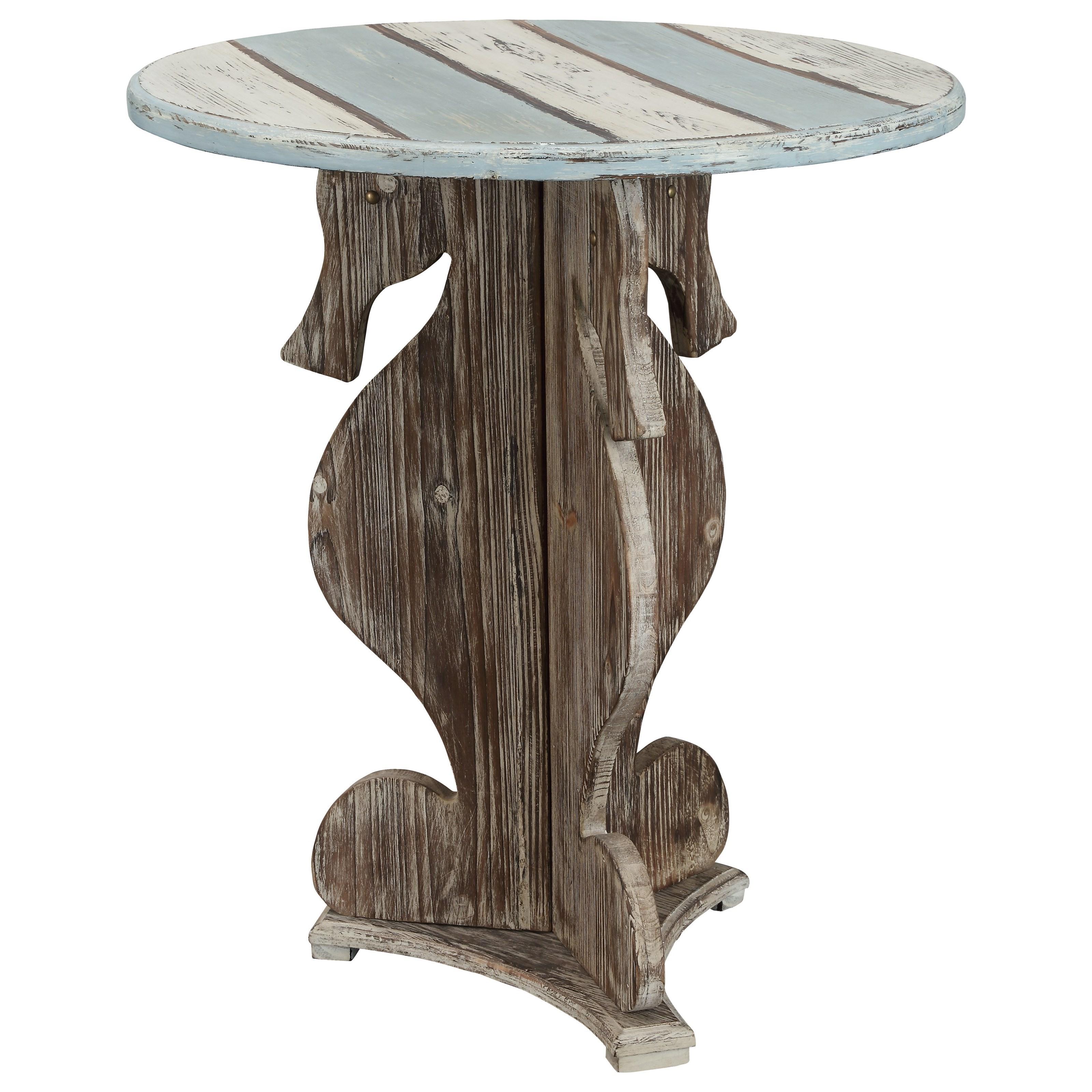 Coast To Coast Imports IslanderSeahorse Table ...