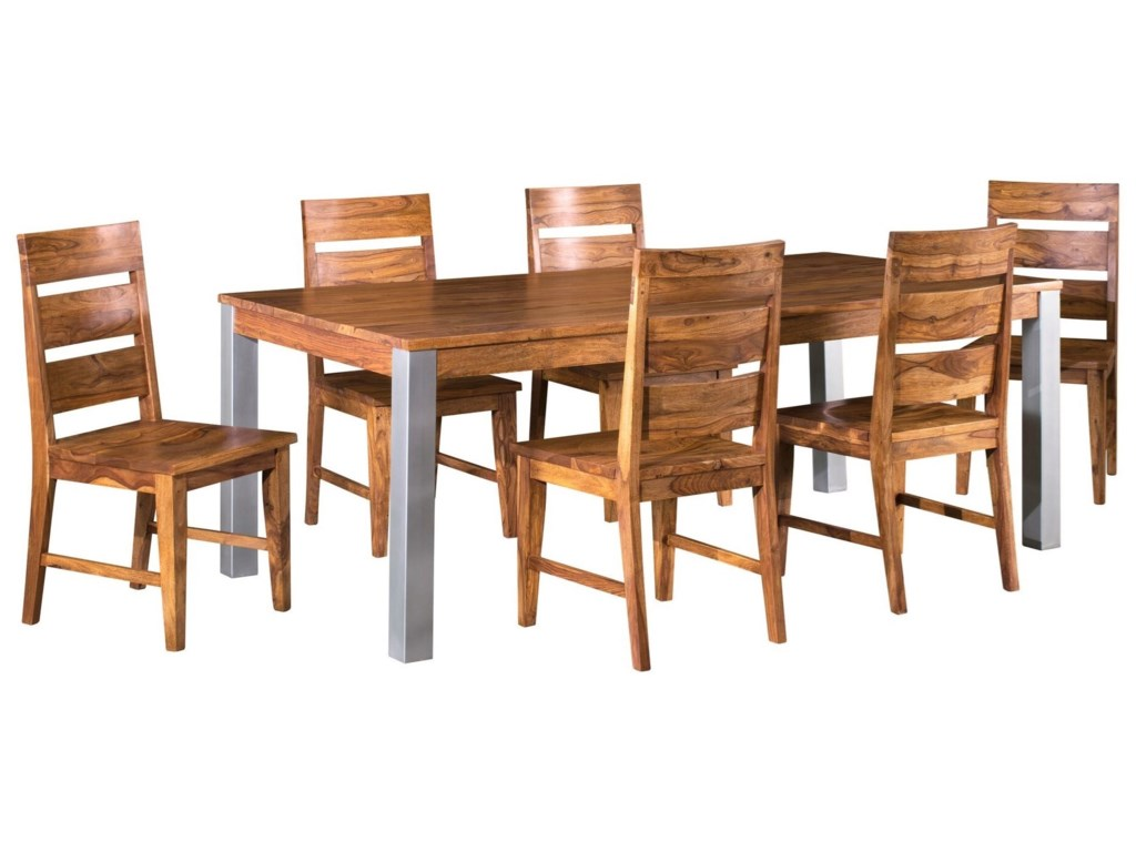Coast to Coast Imports Kingston7-Piece Table and Chair Set