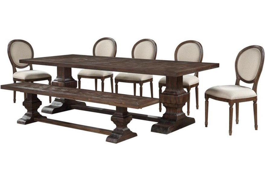 Marquette 7 Piece Table And Chair Set