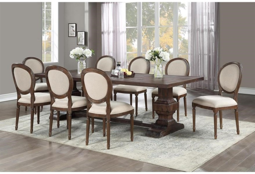 Marquette 9 Piece Table And Chair Set
