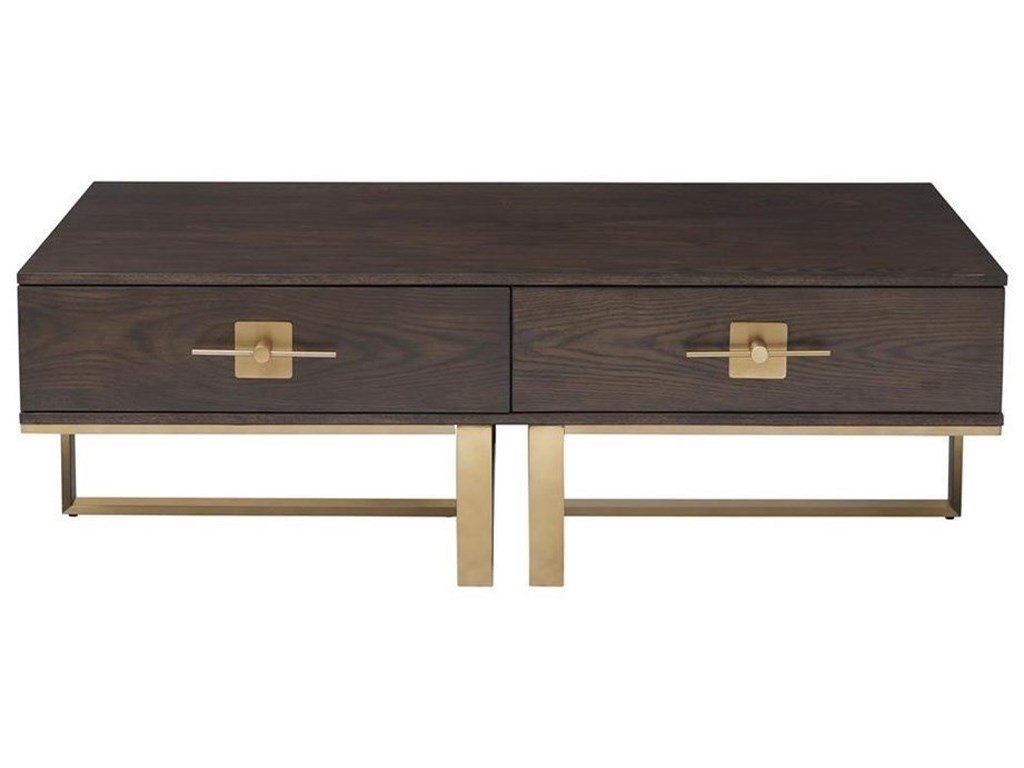 Coast to Coast Imports MidasTwo Drawer Cocktail Table