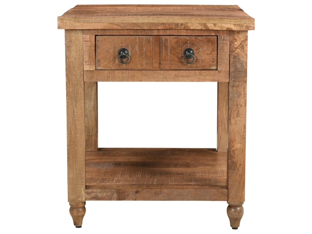 Coast to Coast Imports Millstone1-Drawer End Table