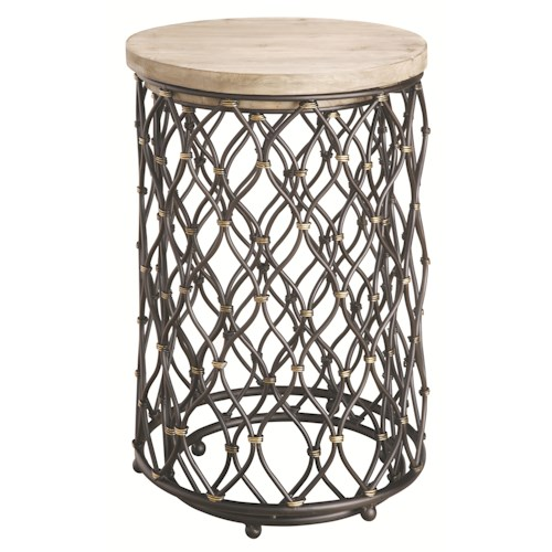 Coast to Coast Imports Occasional Accents Elegant 2 Piece Nestled Table