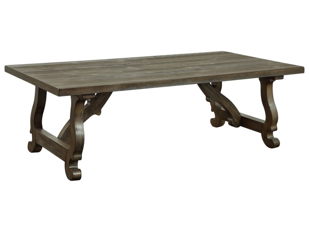 Coast to Coast Imports Orchard ParkRectangle Cocktail Table