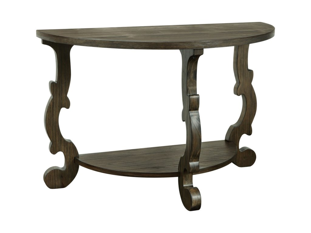 Coast to Coast Imports Orchard ParkDemilune Console Table