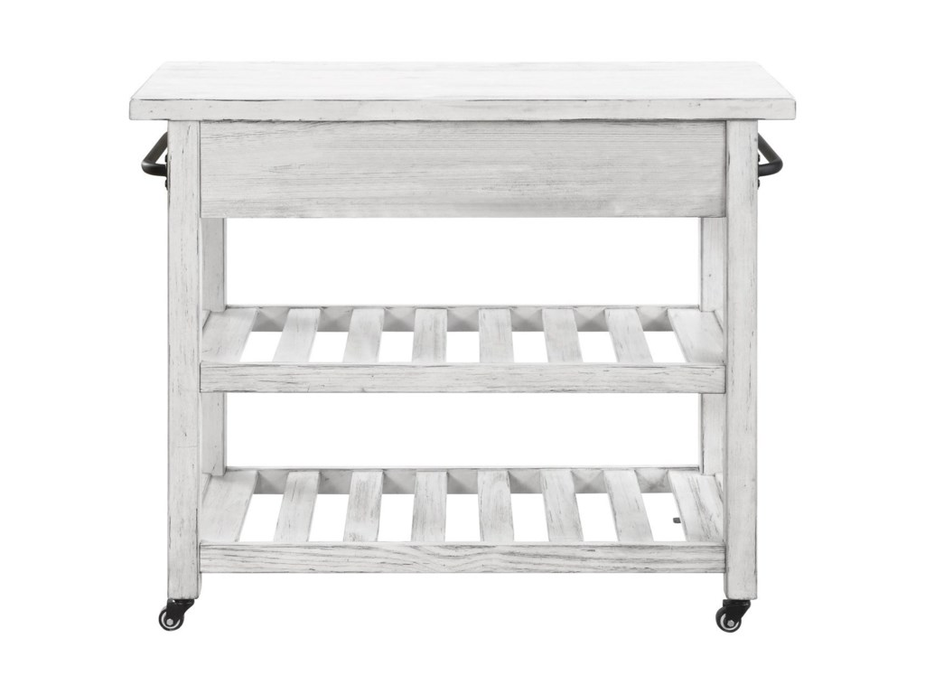 Coast to Coast Imports Orchard ParkTwo Drawer Kitchen Cart