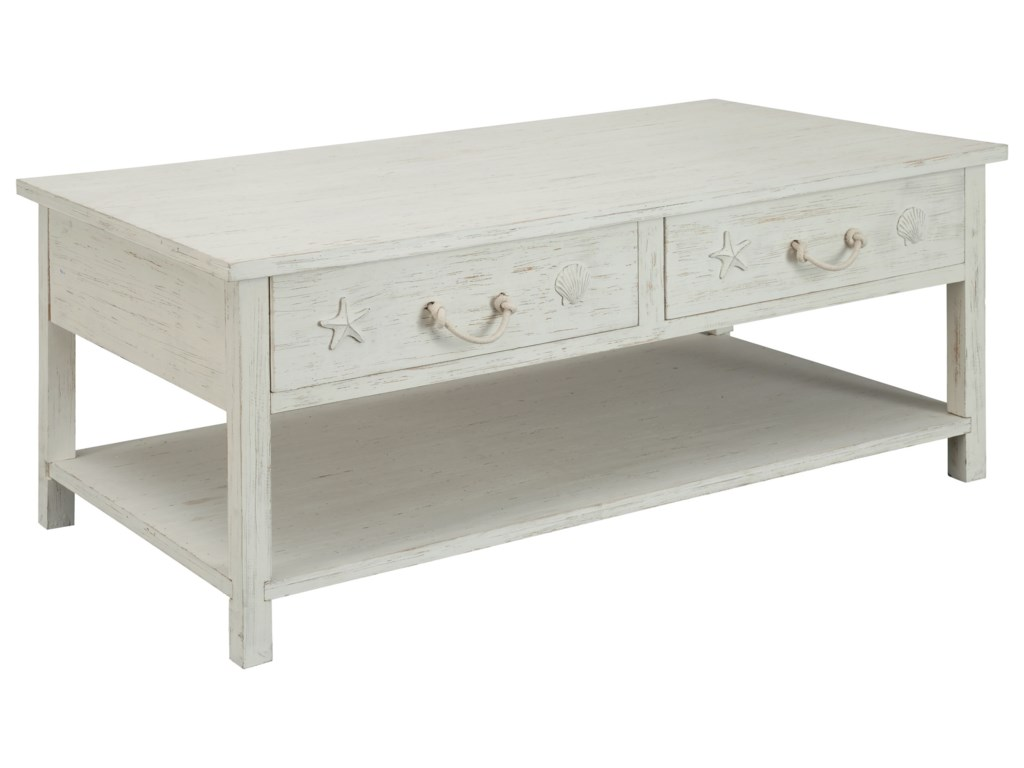 Coast to Coast Imports SanibelSanibel Four Drawer Cocktail Table