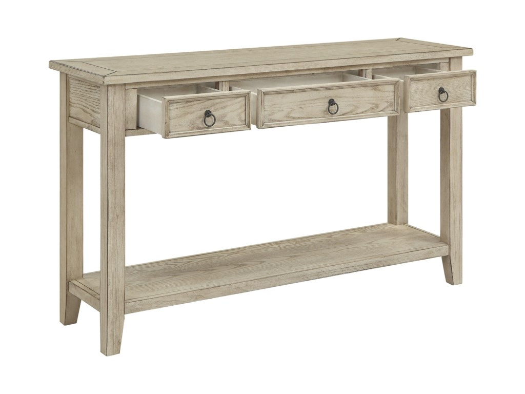 Coast to Coast Imports SummervilleThree Drawer Console Table