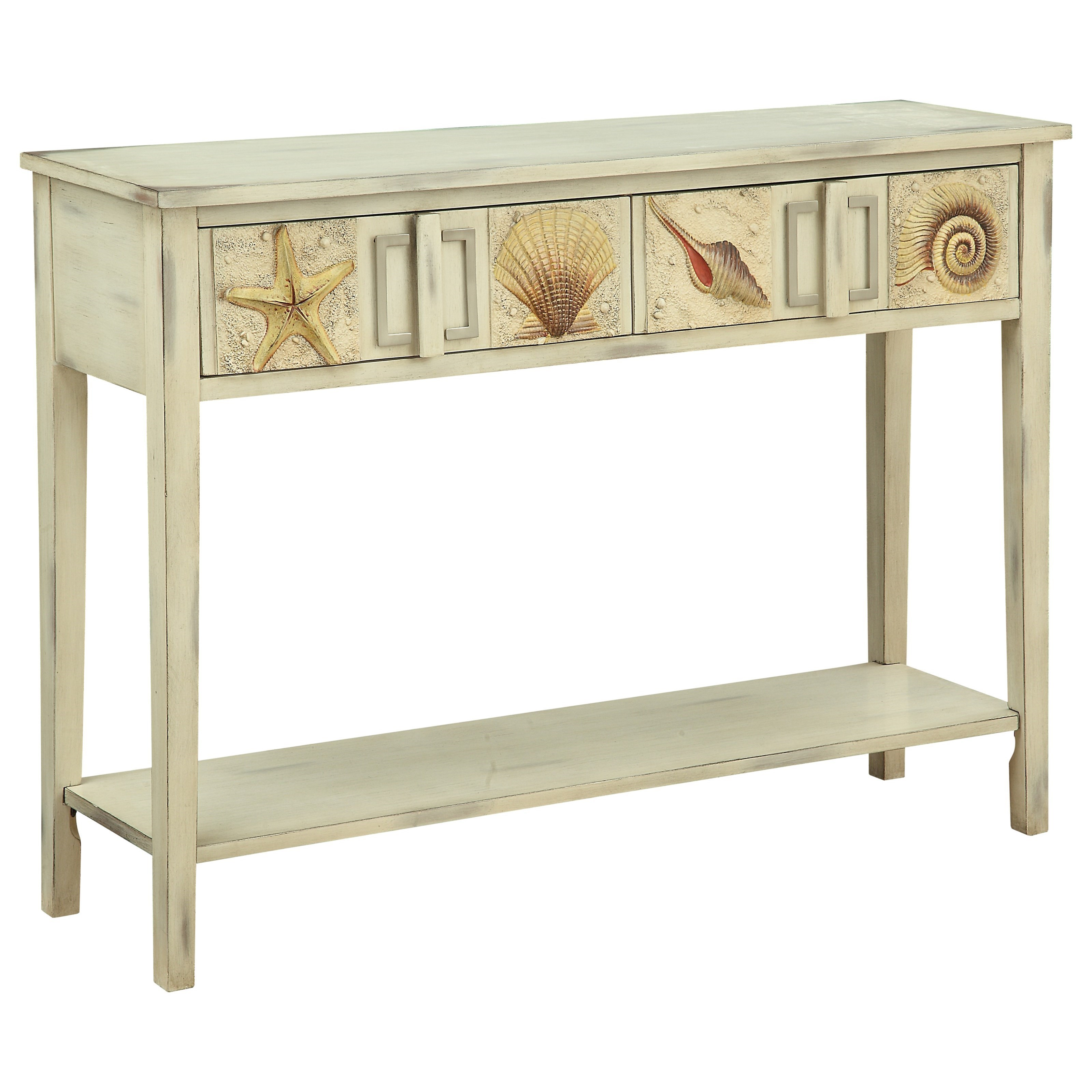Charmant Coast To Coast Imports Surfside Two Drawer Console Table