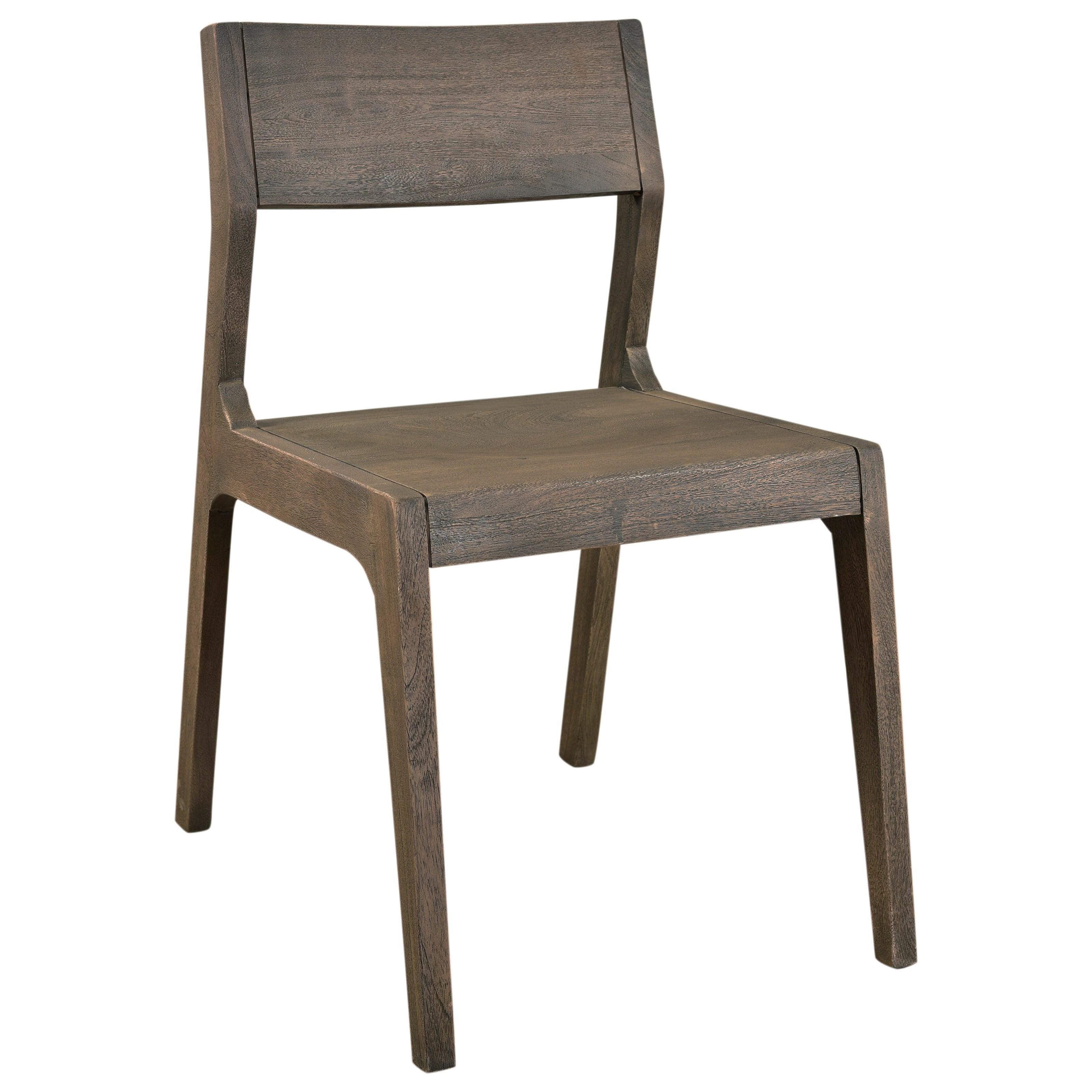 Coast To Coast Imports Tundra Wood Dining Chair