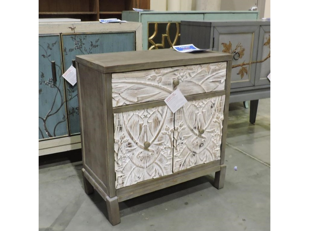 Coast to Coast Imports Clearance1 Drawer & 2 Door Cabinet