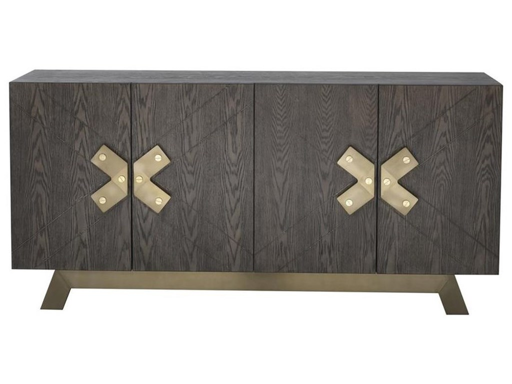 Coast to Coast Imports VistaFour Door Media Credenza
