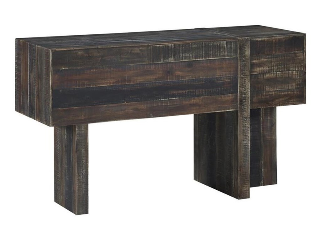 Westwood Rustic Console Table by Coast to Coast Imports at Zak\'s Home