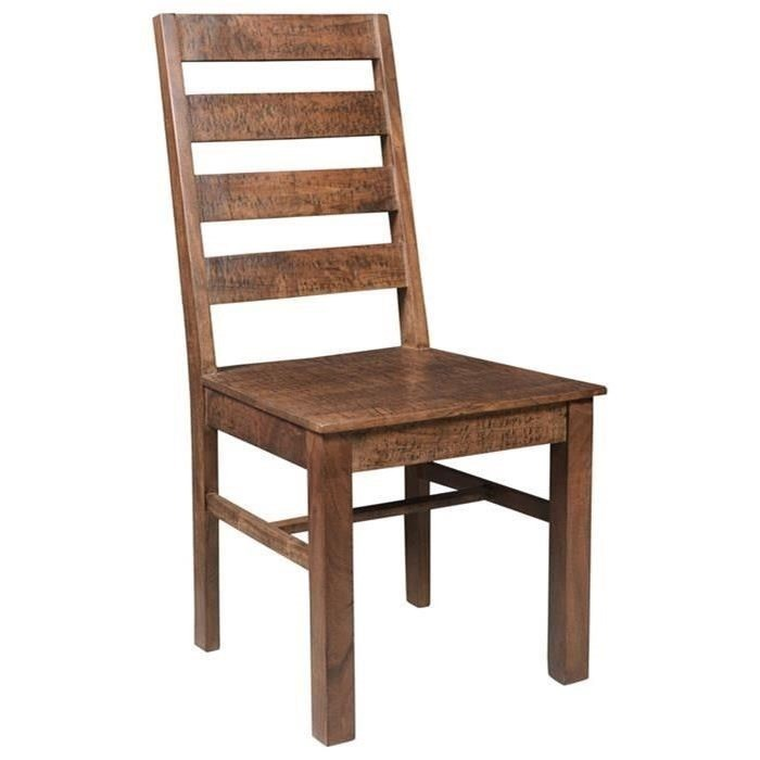 Side Chair with Ladder Back
