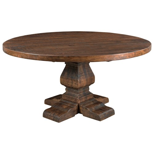 Coast To Coast Imports Woodbridge Round Dining Table Value City Furniture Dining Tables