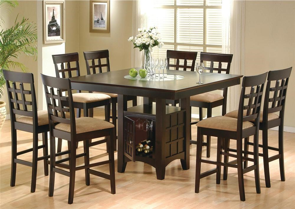 Mix U0026 Match 5 Piece Counter Height Dining Set By Coaster