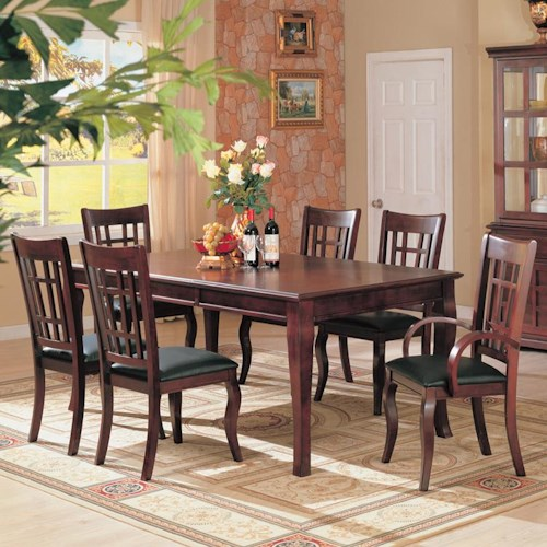 Coaster Newhouse 7 Piece Dining Set