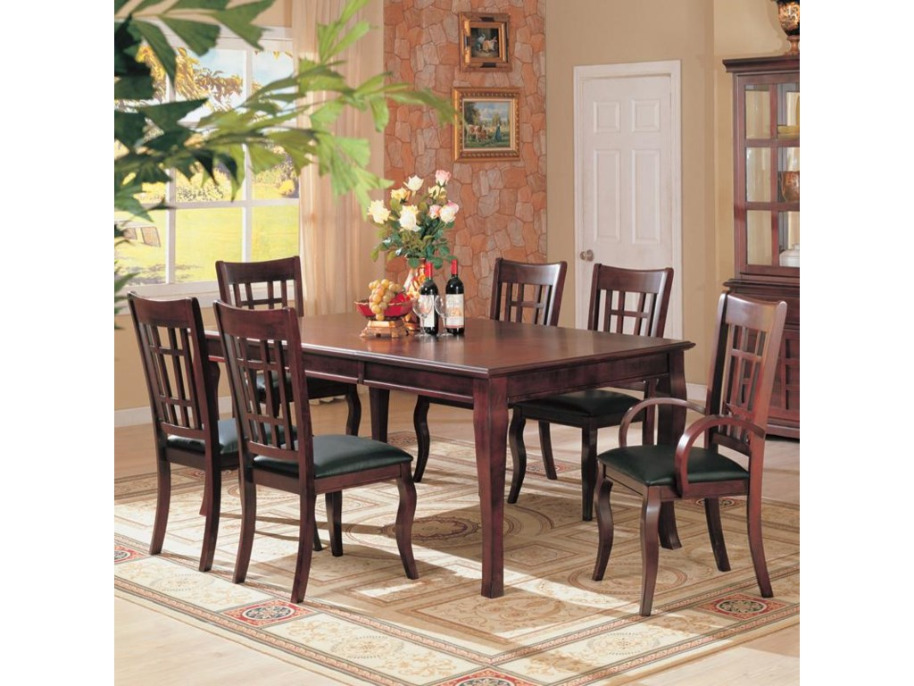Coaster Newhouse7 Piece Dining Set