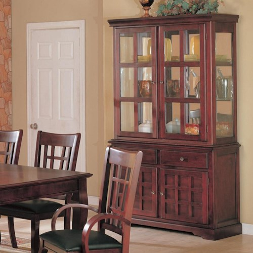 Coaster Newhouse Buffet/Hutch China Cabinet