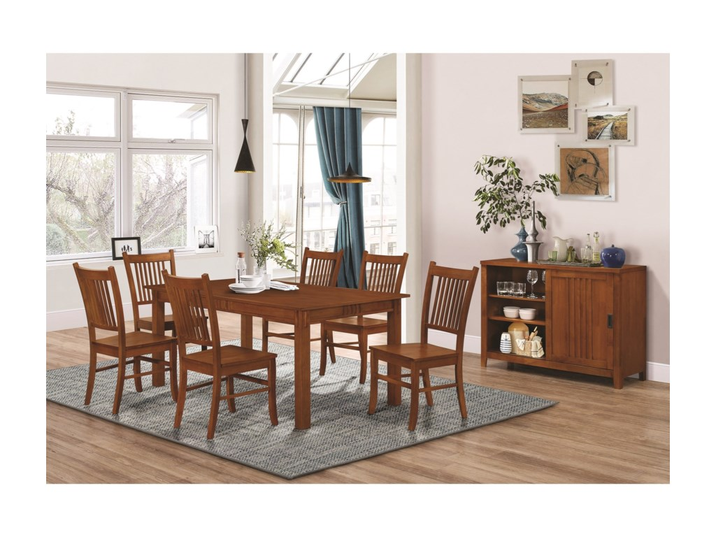 Coaster Marbrisa7 Piece Dining Set