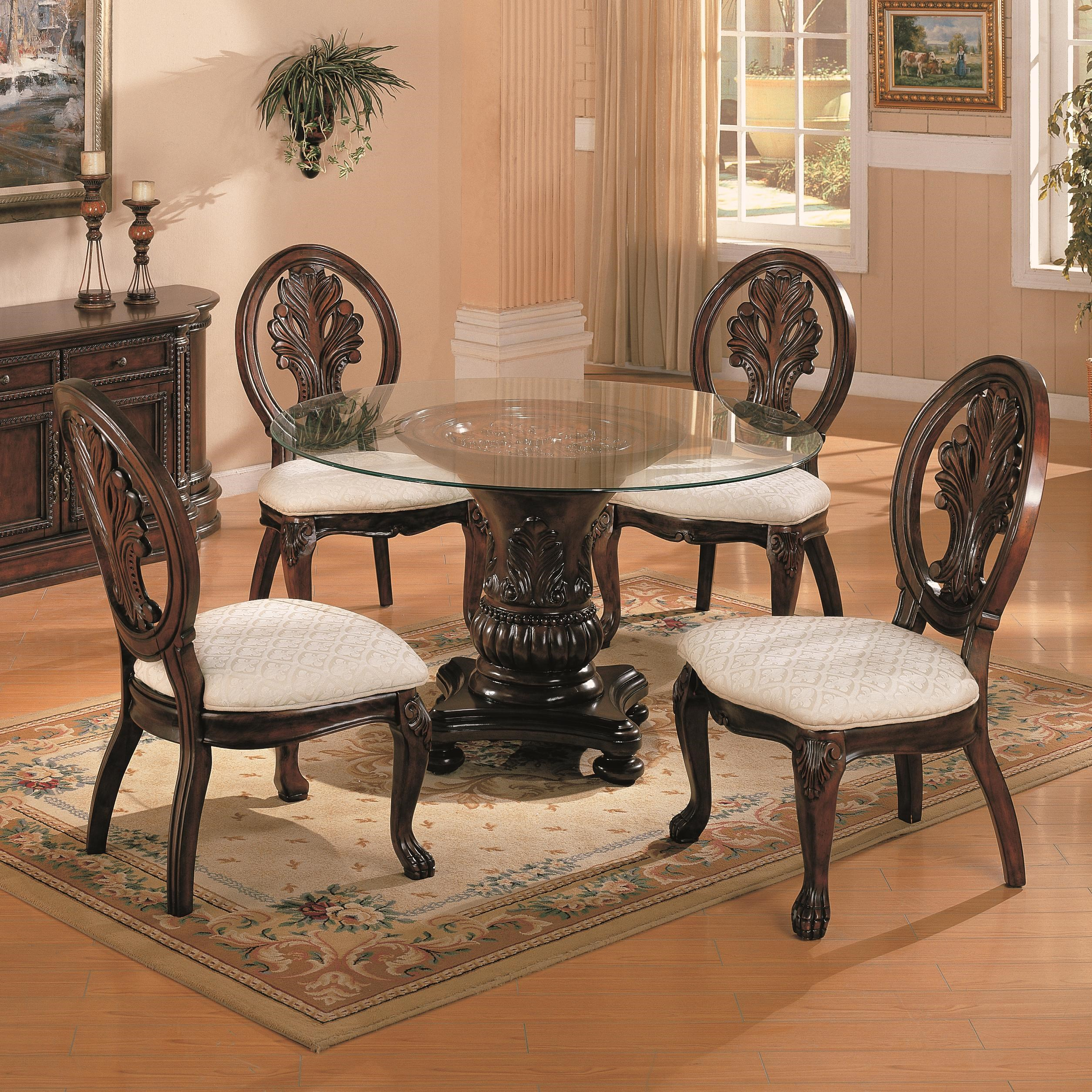 Superbe Coaster Tabitha5 Piece Dining Set ...