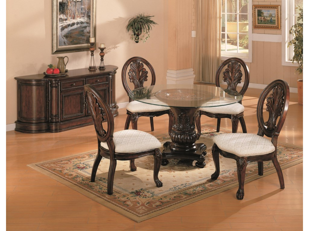 Coaster Furniture TabithaRound Dining Table