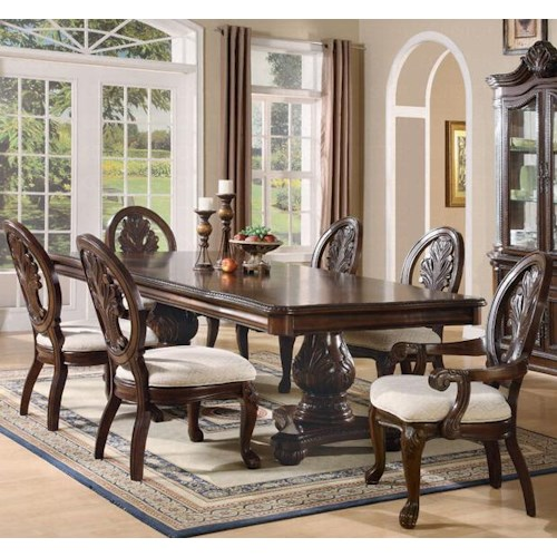 Coaster Tabitha 7 Piece Dining Set