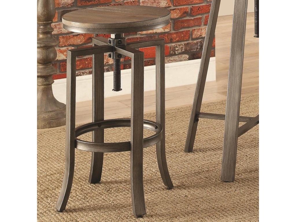Coaster 10181Adjustable Bar Stool