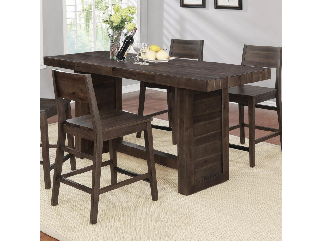 Coaster BarnesCounter Height Table