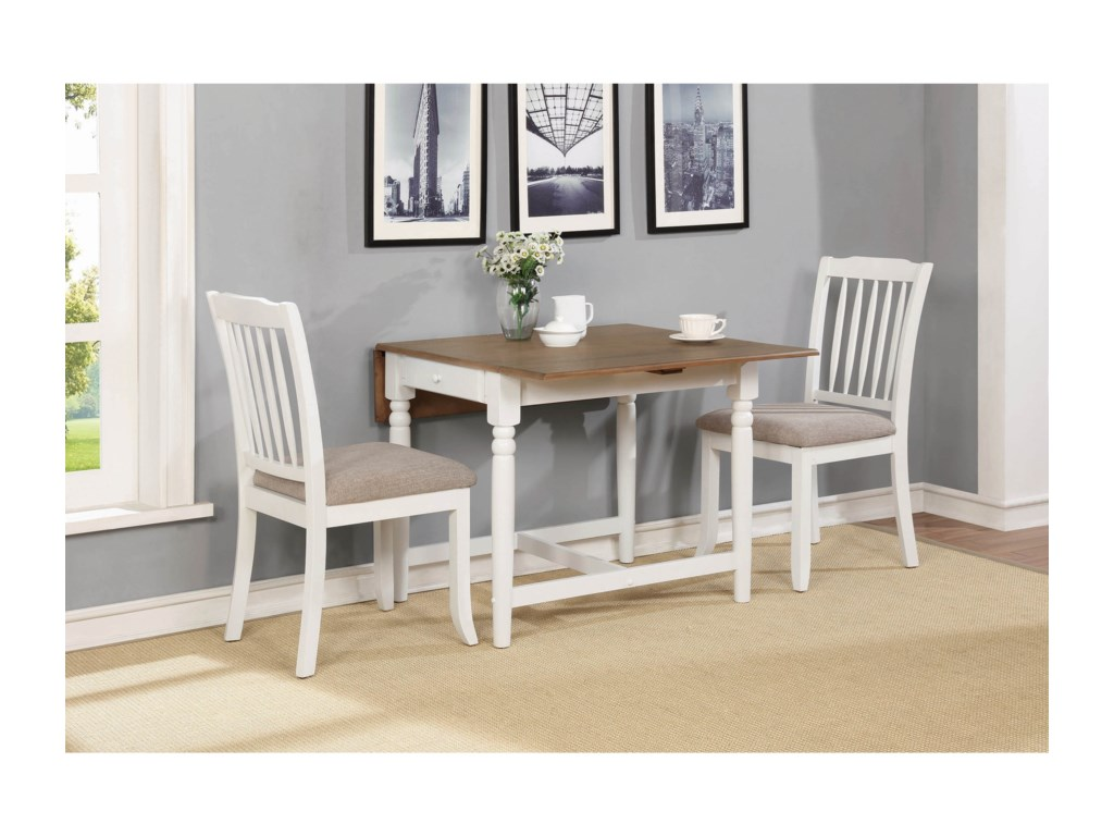 Coaster Hesperia3 Pc Dining Set