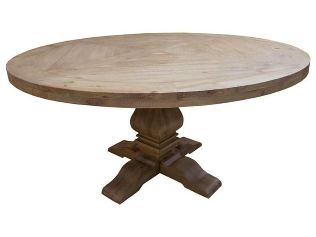 Coaster FlorenceRound Pedestal Table