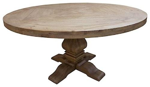 Coaster Florence Pedestal Table