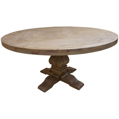 Coaster Florence Pedestal Table