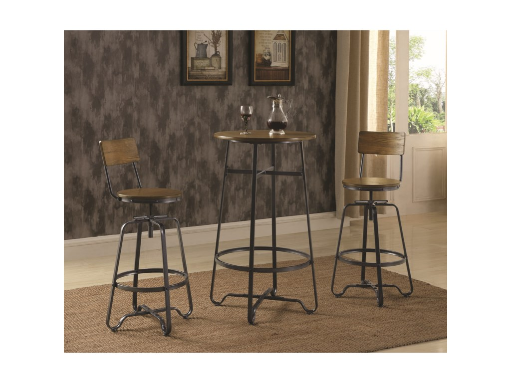 Coaster 182003Pub Table Set for Two