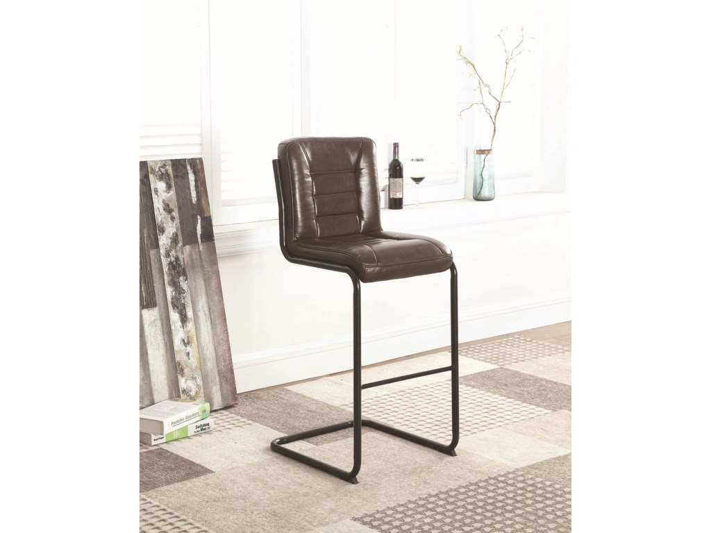 (Up to 40% OFF sale price) Collection # 2 1820Bar Stool, Brown