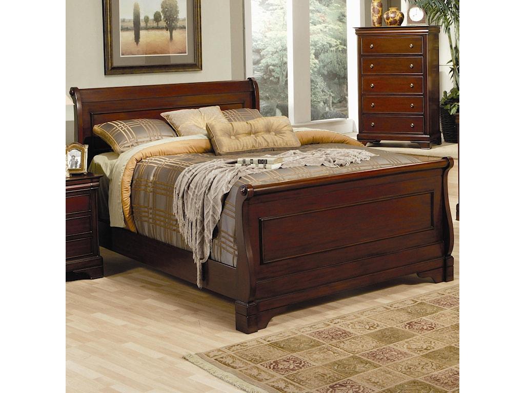 Coaster VersaillesKing Sleigh Bed