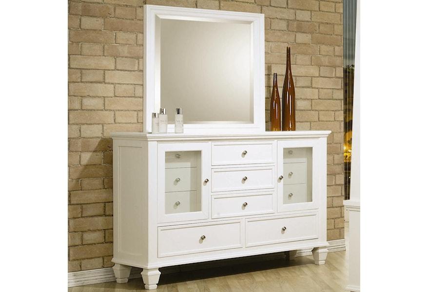 Sandy Beach Clic 11 Drawer Dresser