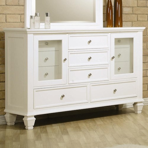 Coaster Sandy Beach Dresser with 11 Drawers
